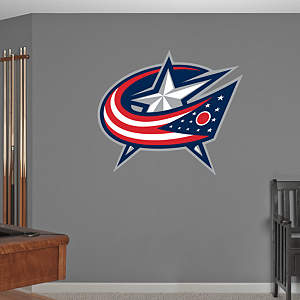 Columbus Blue Jackets Logo Fathead Wall Decal